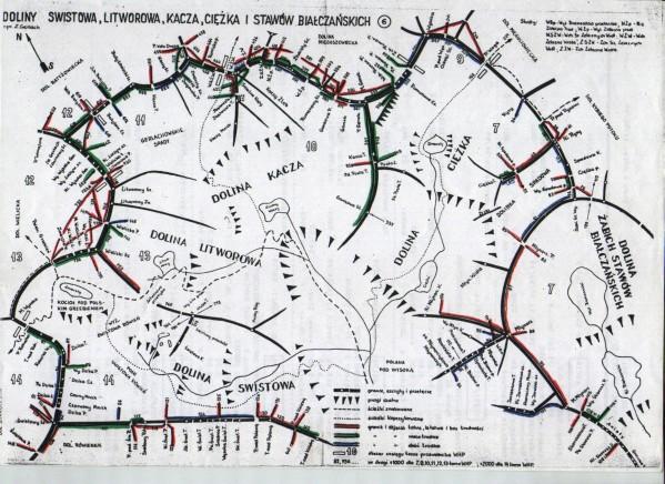 Dolina Litworowa, świstowa, Kacza i Ciężka