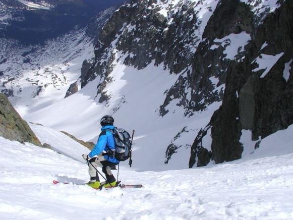 Freeride ski tatry