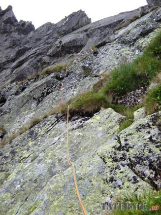 Wielka Kopa Popradzka - Droga przez Płyty (4)