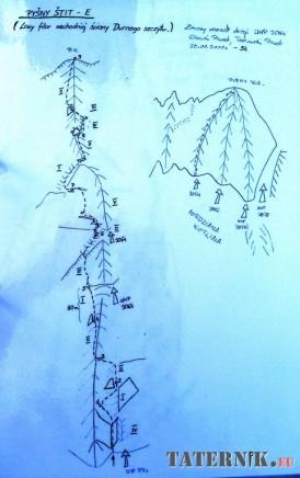 Durny Stit - Lewy filar